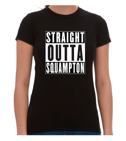 Unisex Short Sleeve T-Shirt - STRAIGHT OUTTA SQUAMPTON