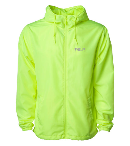 "Unisex Lightweight Windbreaker Jacket - 10"" Reflective Logo"