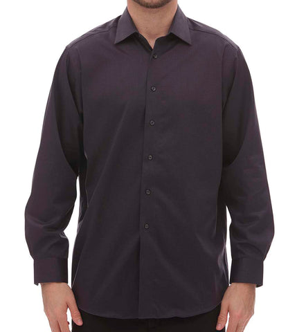 Men's Non Iron Dobby Dress Shirt
