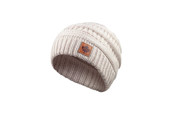 Youth Knitted Toque - Maple