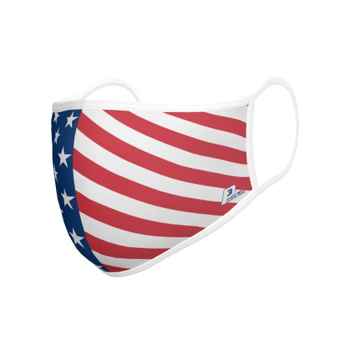 USA Flag Flat Loops