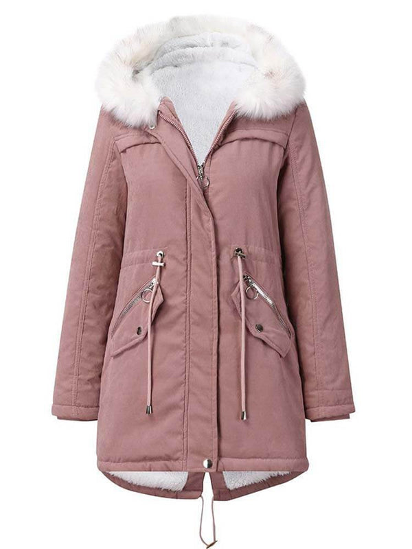 Women Winter Warm Outdoor Parka Coat