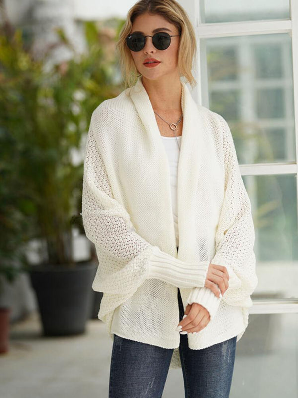 Casual Batwing Winter Knitted Cardigans