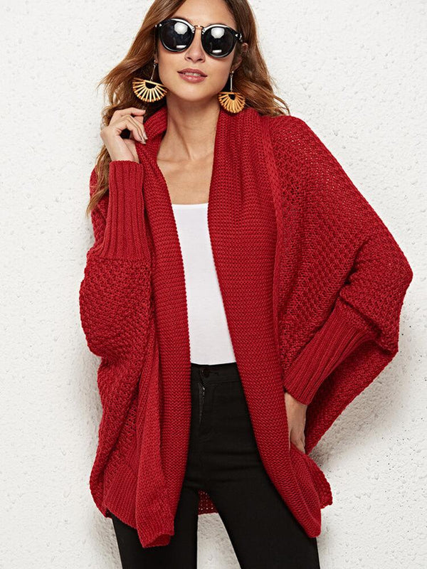 8 Colors Batwing Women Christmas Sweater Cardigans