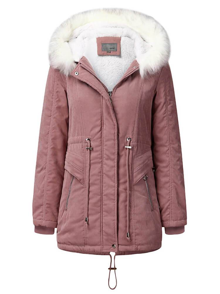 Outdoor Hooded Winter Warm Coat
