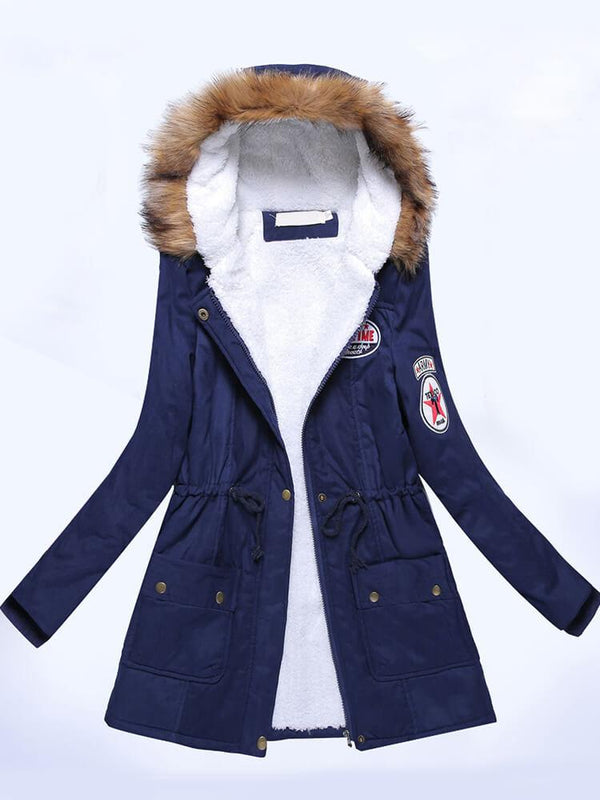 Winter Outdoor Daily Hooded Coat