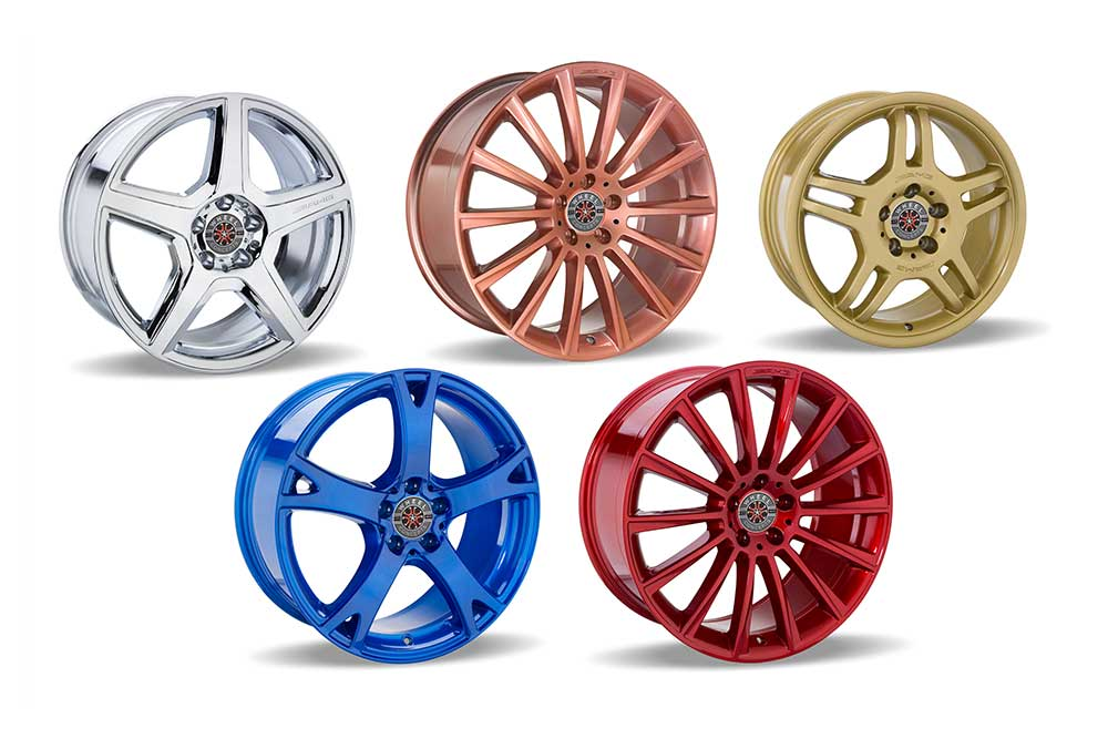 Los Angeles Wheel Powder Coating Services