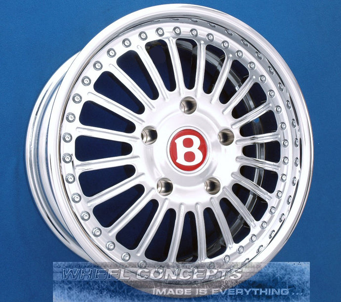 Bentley Custom Chrome Wheels BT59