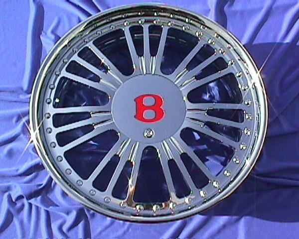 Bentley Custom Chrome Wheels BT42