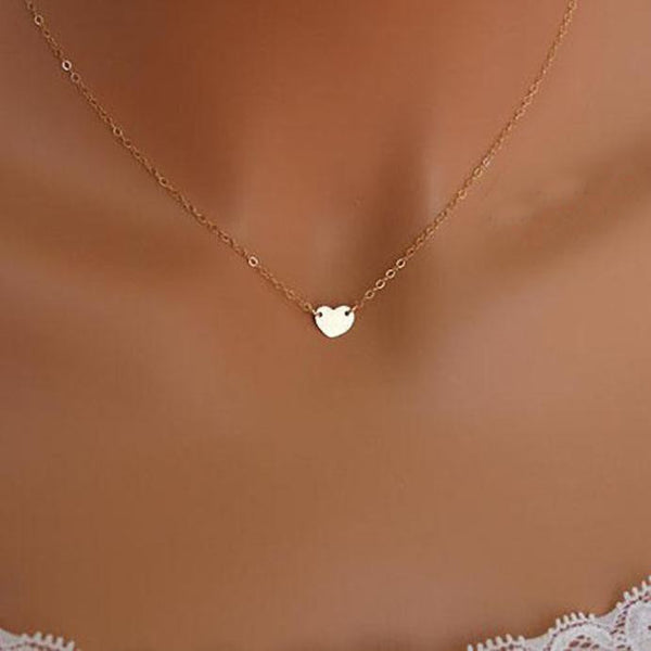 Fashion Jewelry Chain Sexy Gold  Love Heart Necklace