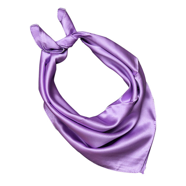 Women Lady Solid Color Soft Wrap Scarf Fashion Accessory