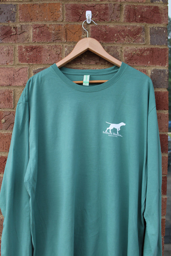 Long Sleeve Pocketless Pointer Tee