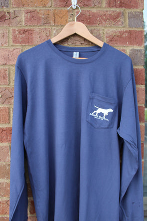 Long Sleeve Classic Pointer Tee w/Pocket