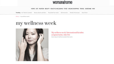 My wellness week: International facialist-acupuncturist, Ada Ooi