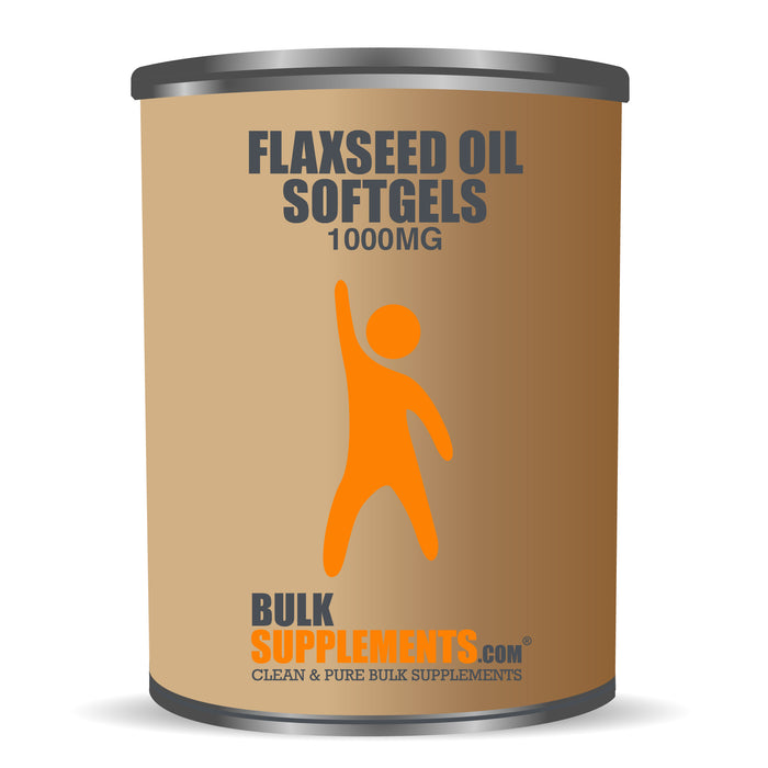 Flaxseed Oil (Softgels) (1000mg)