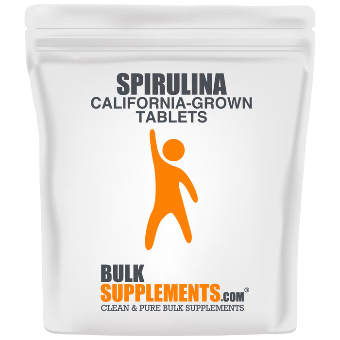 Comprimés de spiruline (Californie-Grown)