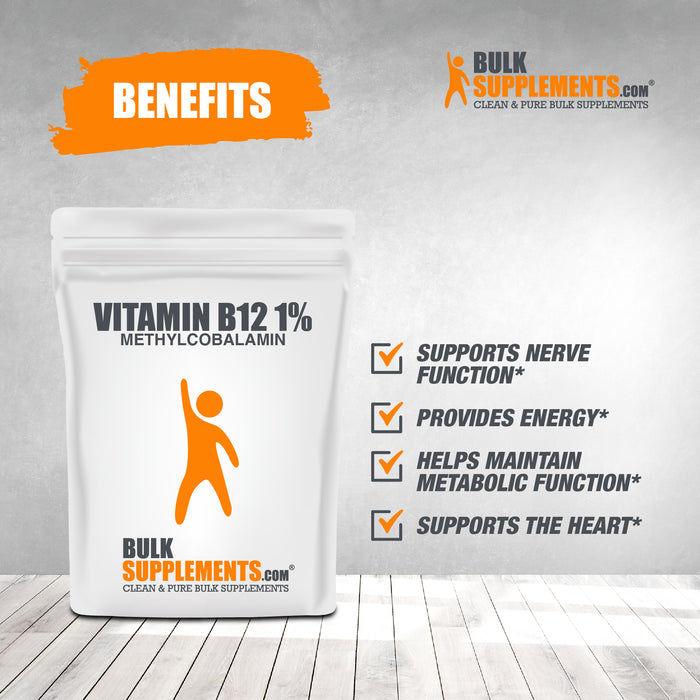Vitamin B12 1% Methylcobalamin