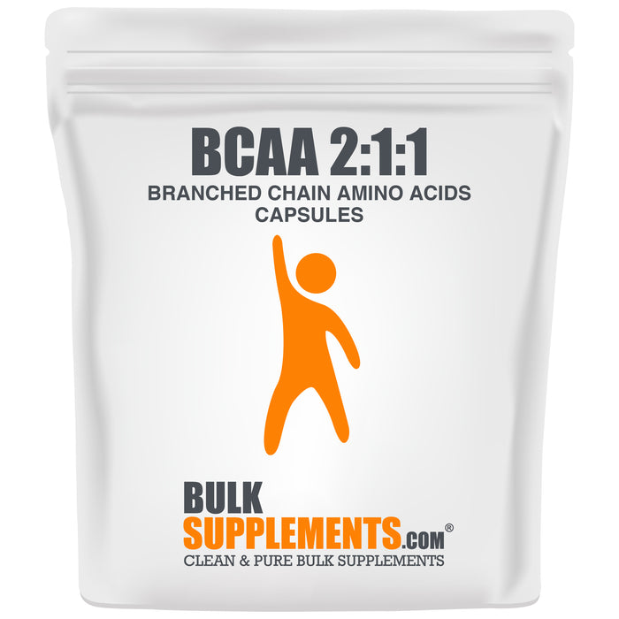 BCAA 2:1:1 (Branched Chain Amino Acids) (Capsules)