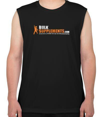 BulkSupplements.com Mens Performance Tank (Black)-BulkSupplements.com