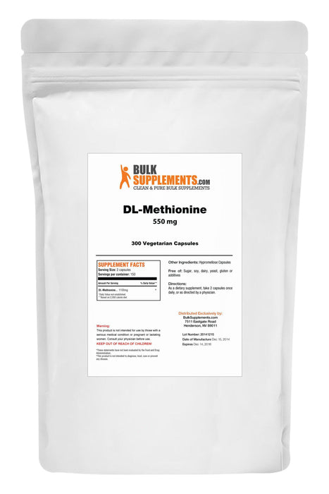 DL-Methionine - BulkSupplements.com