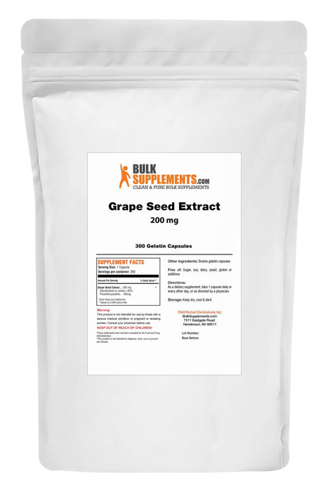 Grape Seed Extract-BulkSupplements.com
