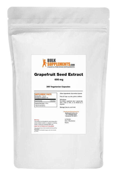 Grapefruit Seed Extract (GSE) Capsules-BulkSupplements.com
