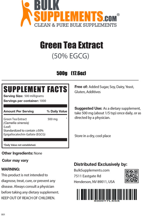 Green Tea Extract (50% EGCG)