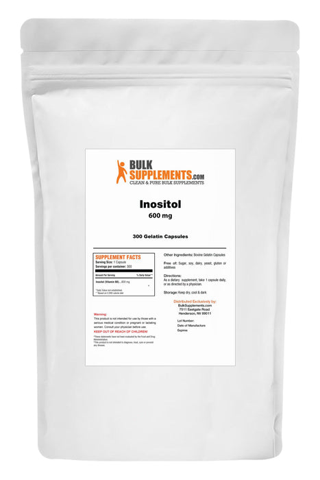 Inositol (Vitamin B8)-BulkSupplements.com