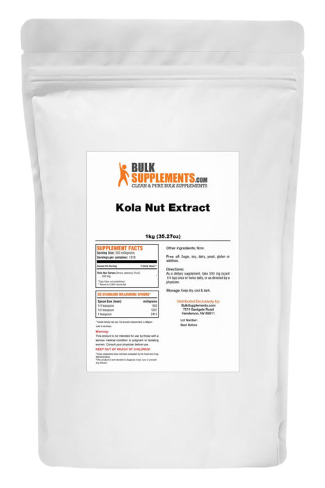 Kola Nut Extract Powder-BulkSupplements.com
