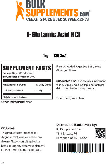 L-Glutamic Acid HCl