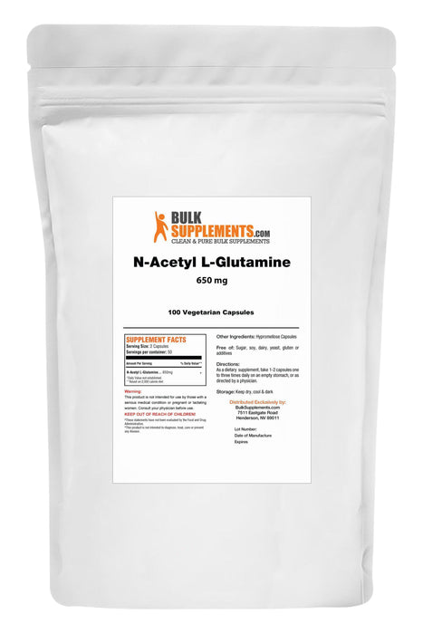 N-Acetyl L-Glutamine-BulkSupplements.com