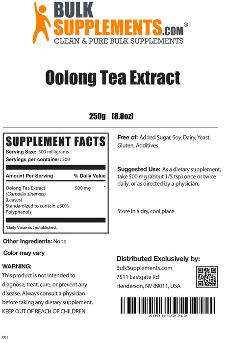 Extracto de Té Oolong