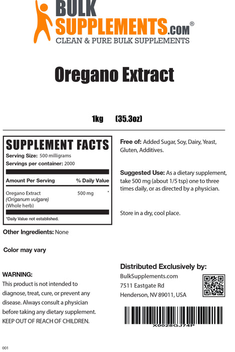 Oregano Extract