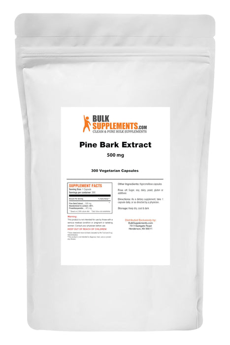 Pine Bark Extract-BulkSupplements.com