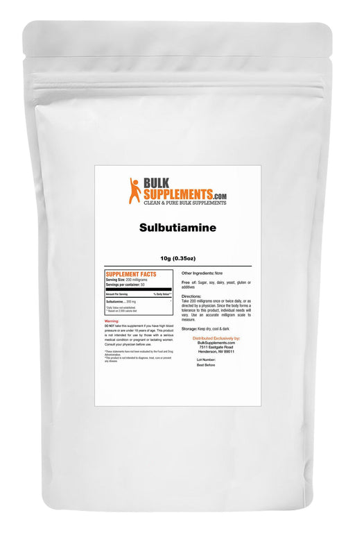 Sulbutiamine Powder-BulkSupplements.com