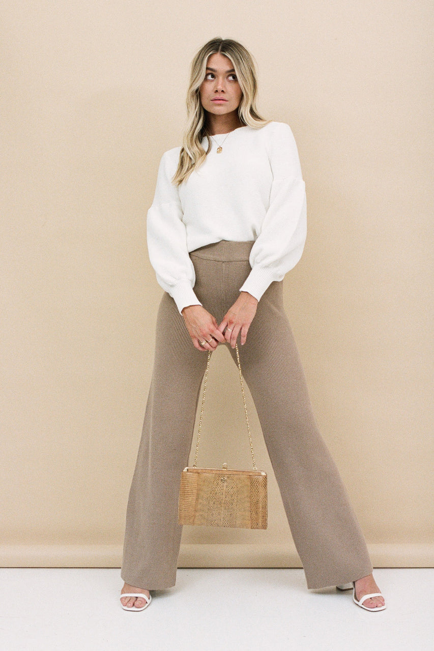 Capri Knit Pants