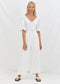 Lucina Jumpsuit - White