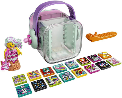 LEGO VIDIYO Candy Mermaid Beatbox 43102 Building Kit with Minifigure; Creative Kids Will Love Producing Pop Music Videos Full of Songs, Dance Moves and Effects, New 2021 (71 Pieces)