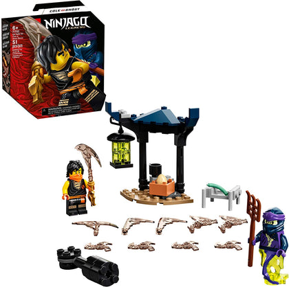 LEGO NINJAGO 71733 Epic Battle Set - Cole vs. Ghost Warrior, New 2021 (51 Pieces)