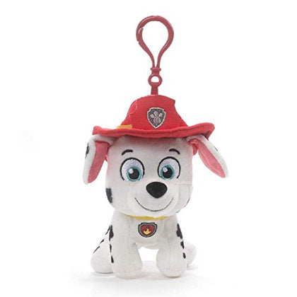 GUND Paw Patrol Marshall Backpack Clip, 4