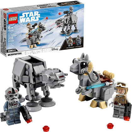 LEGO Star Wars AT-AT™ vs. Tauntaun™ Microfighters  75298, New 2021 (205 Pieces)