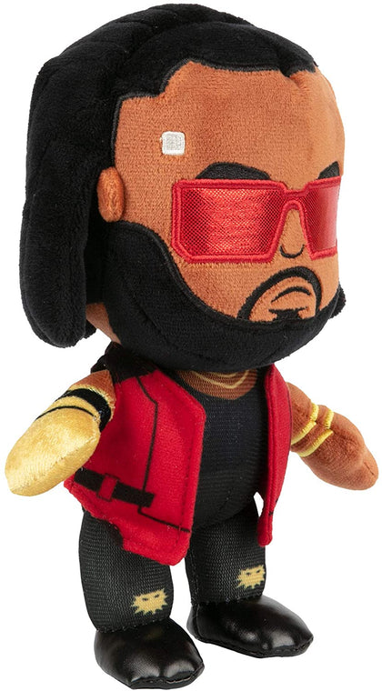 JINX Cyberpunk 2077 M8Z Dexter Deshawn Plush Stuffed Toy, Multi-Colored, 8.75