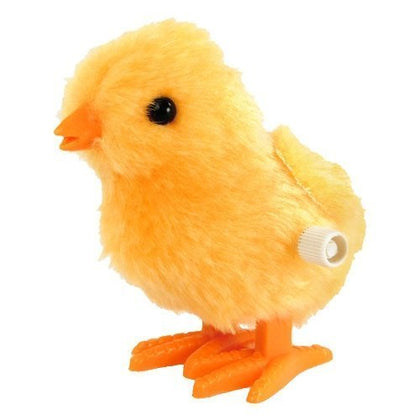 Toysmith Fuzzy Chick Wind Up Toy