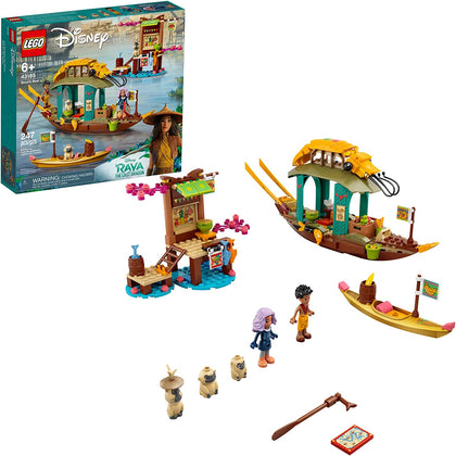 LEGO Disney Raya and the Last Dragon Boun's Boat 43185, New 2021