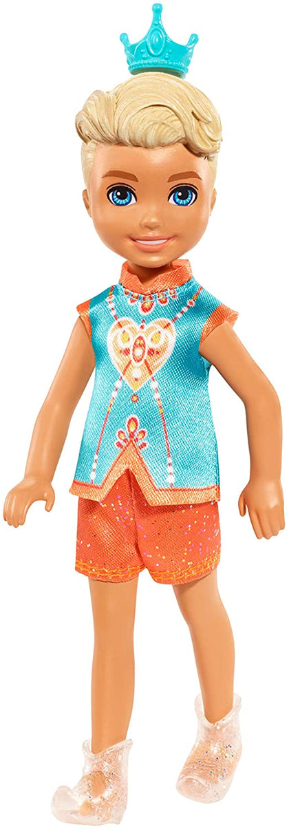 Barbie Dreamtopia Chelsea Boy Sprite Doll, 7-Inch, In Fashion And Accessories