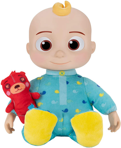 Cocomelon Musical Bedtime JJ Doll, with a Soft, Plush Tummy and Roto Head – Press Tummy and JJ Sings 'Yes, Yes, Bedtime Song
