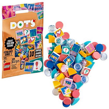LEGO DOTS Extra DOTS - Series 2 41916 DIY Craft, New 2020 (109 Pieces)