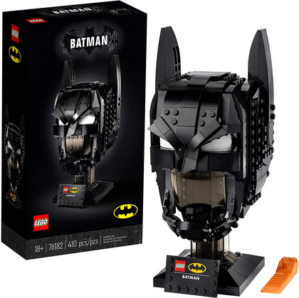 LEGO DC Batman: Batman Cowl 76182 Collectible Batman Model (410 Pieces)