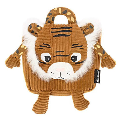 Deglingos Corduroy Backpack Speculos - Tiger