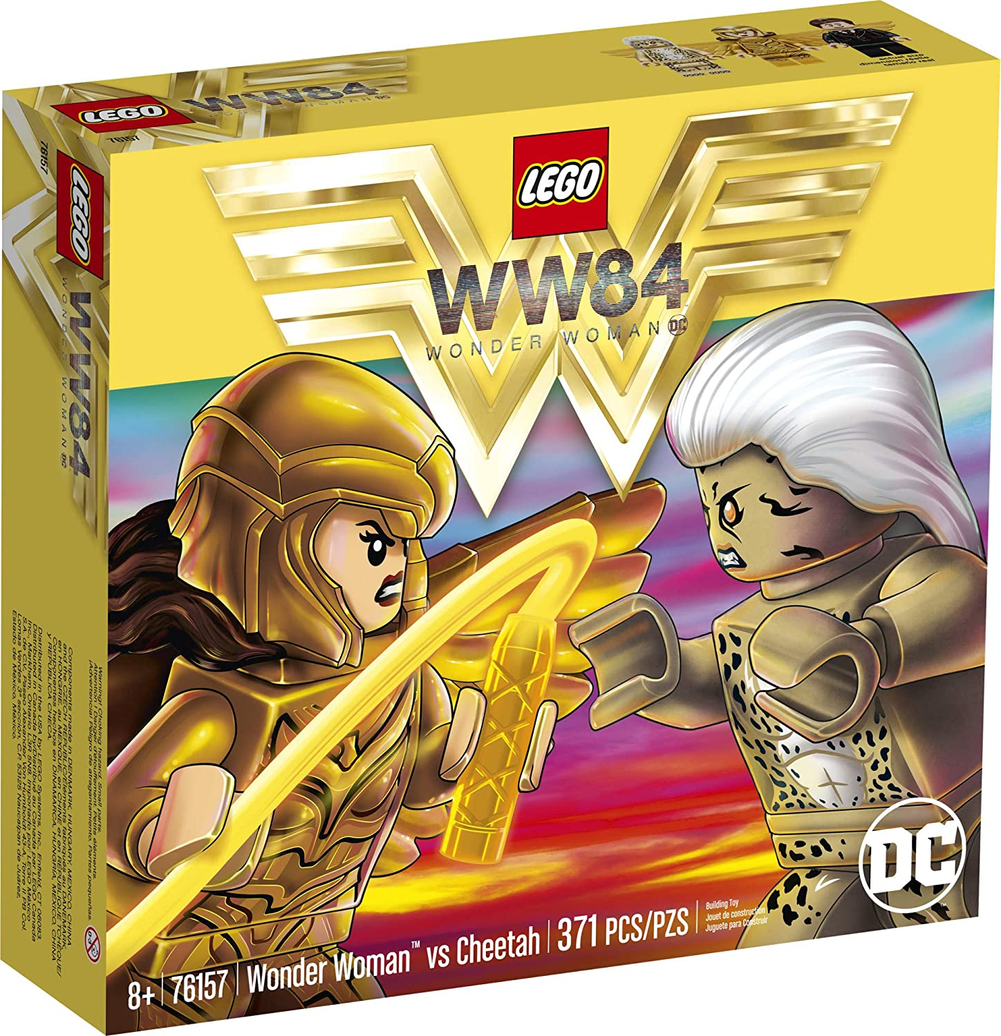 LEGO DC Wonder Woman vs Cheetah 76157 (371 Pieces)